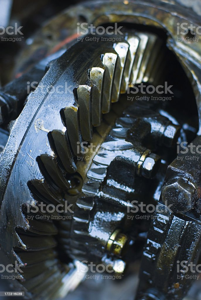 Transmission Part royalty-free stock photo