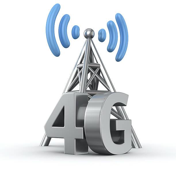 trasmettitore 4 g - 4g foto e immagini stock