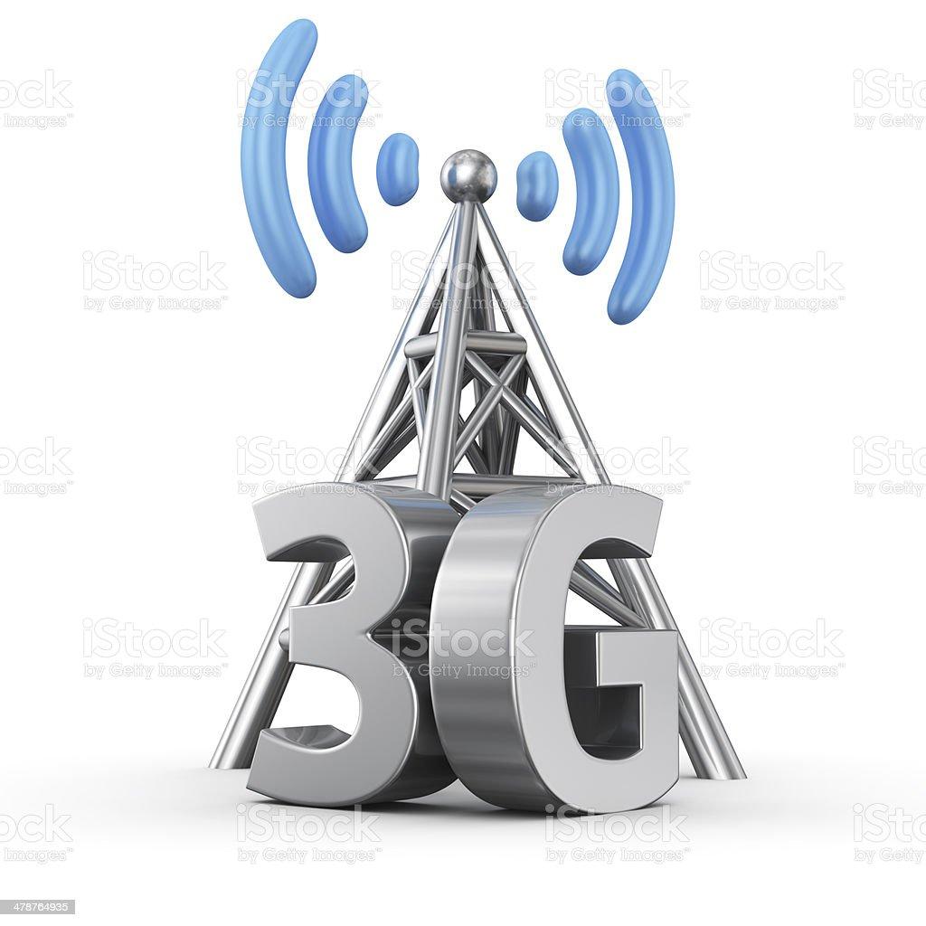3G transmitter stock photo