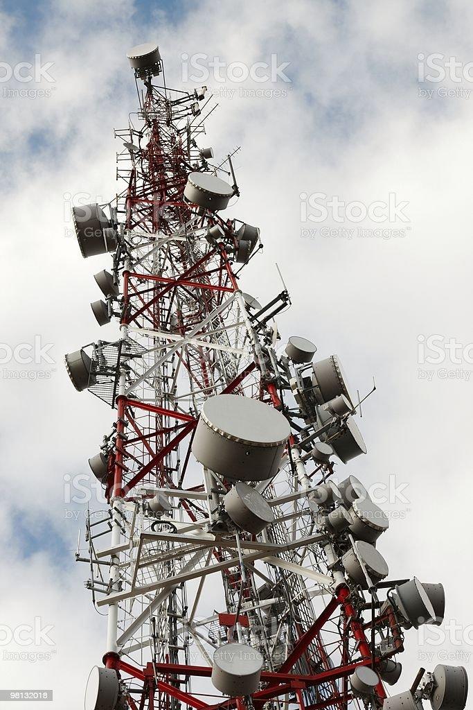 Transmitter royalty-free stock photo