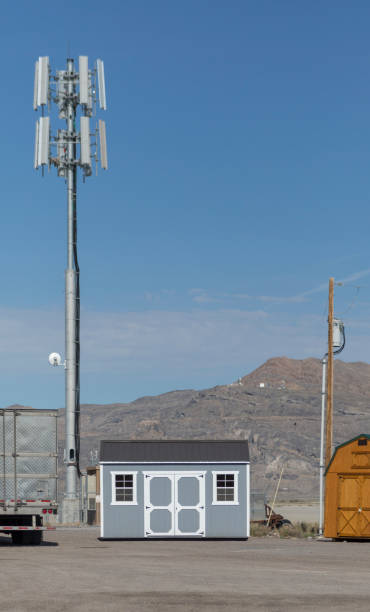 Sender-Ronwallstation auf der Autobahn von nevada utah USA Amerika – Foto