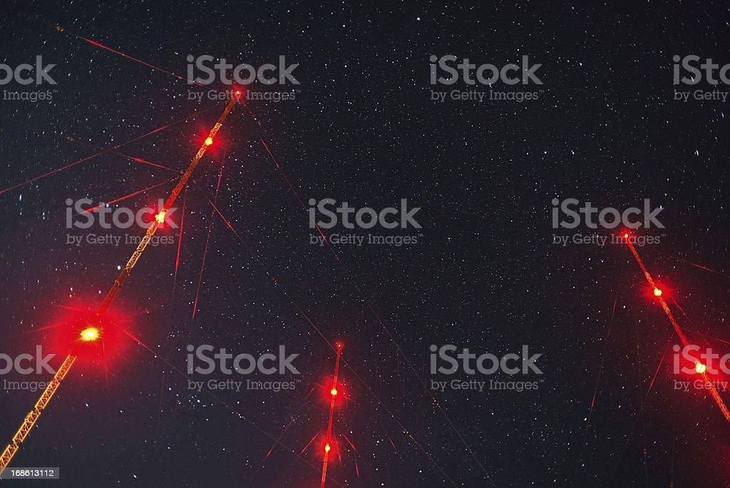 Transmitting to the Stars stock photo