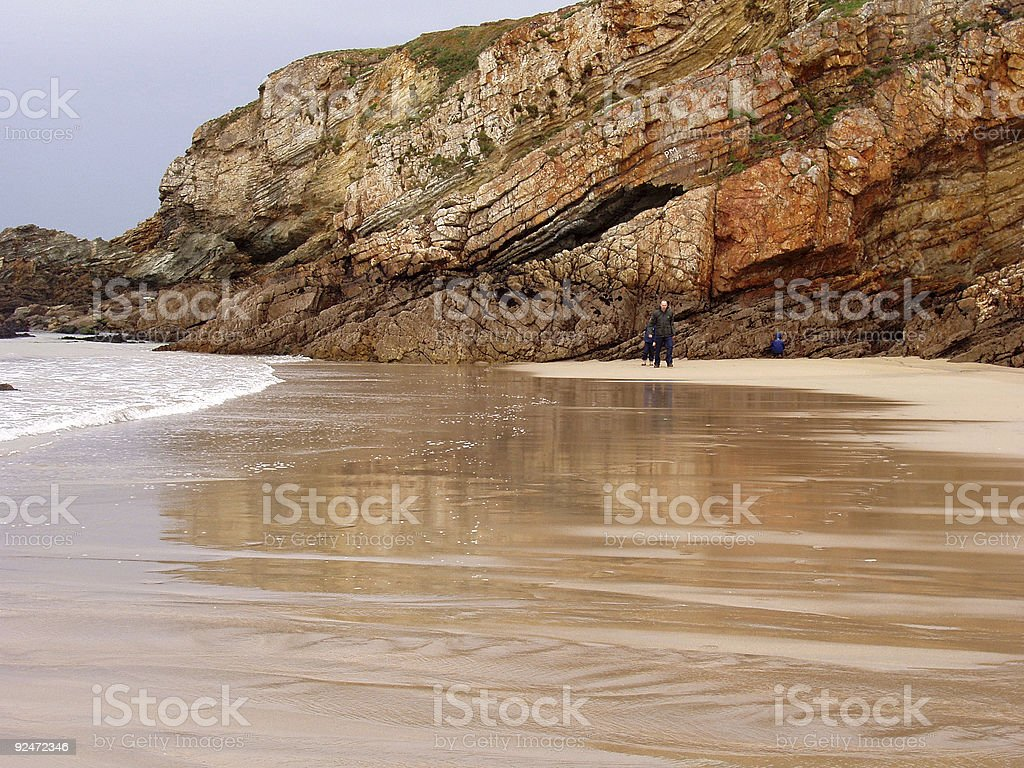 transparent beach royalty-free stock photo