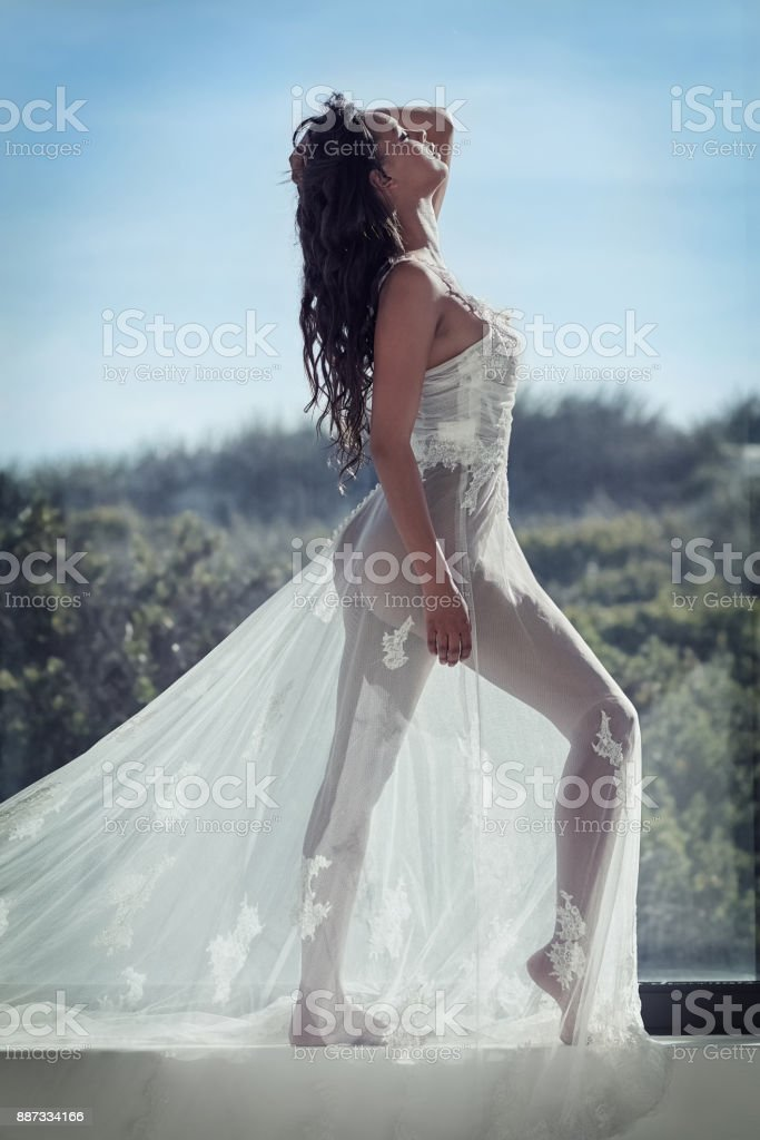 Transparent beauty stock photo