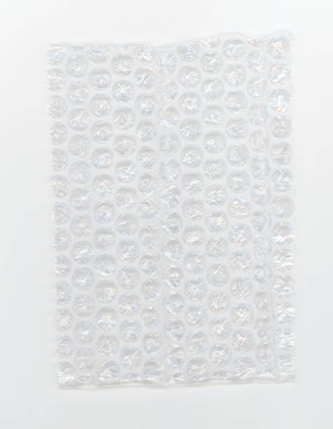 transparent bubble wrap texture background