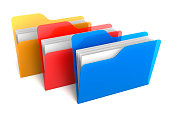 Transparent Color Folders and Files