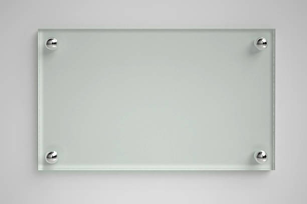 transparent glass board - glass material stock pictures, royalty-free photos & images