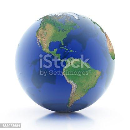 817002182 istock photo transparent globe 3d illustration 883073684