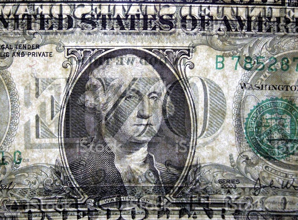 Transparent Money royalty-free stock photo
