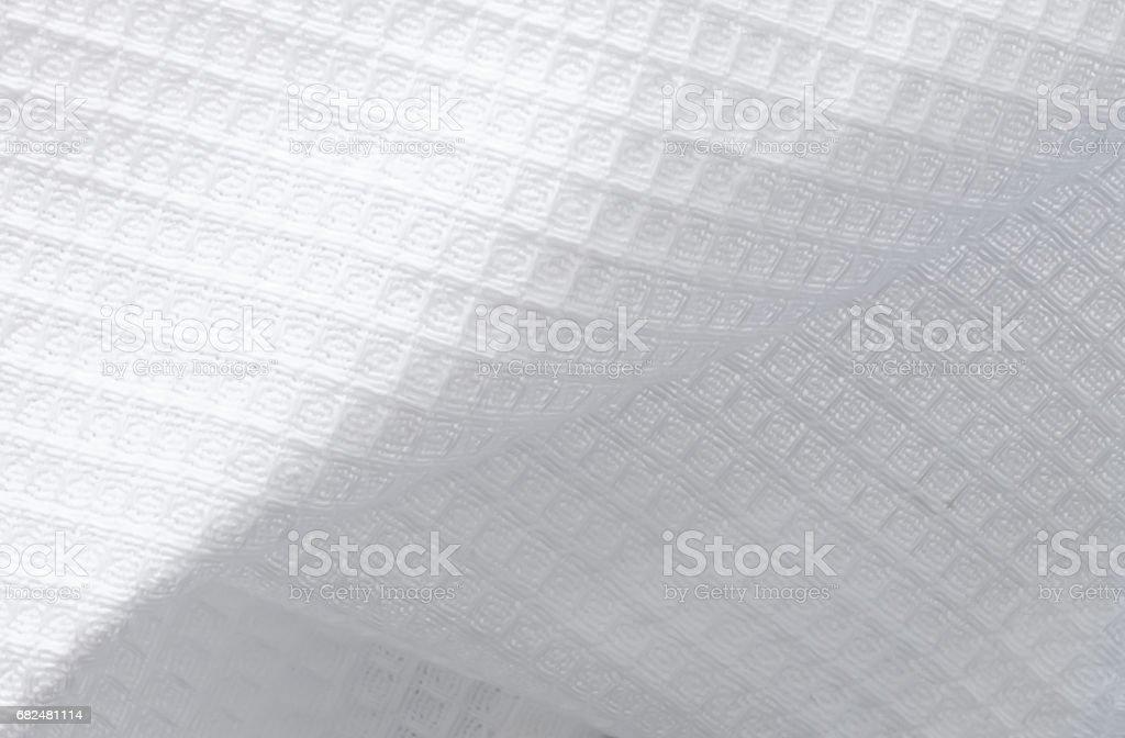 Transparent paper napkin. royalty-free stock photo