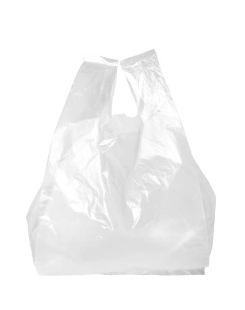 sac en plastique transparent - sac en plastique photos et images de collection