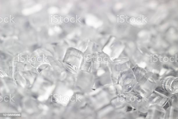 Transparente Kunststoffgranulaten Polymergranulat Auf Schwarzem Hintergrund Isoliert Stockfoto und mehr Bilder von Plastikmaterial