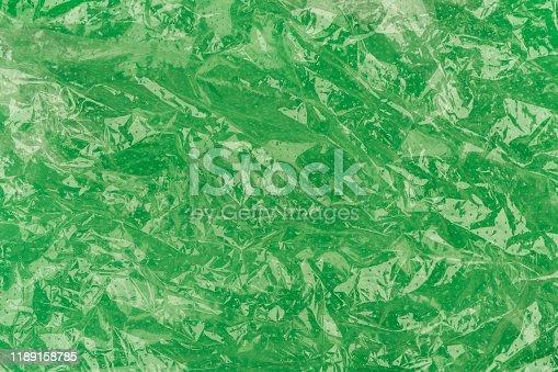 Green Transparent sachet background