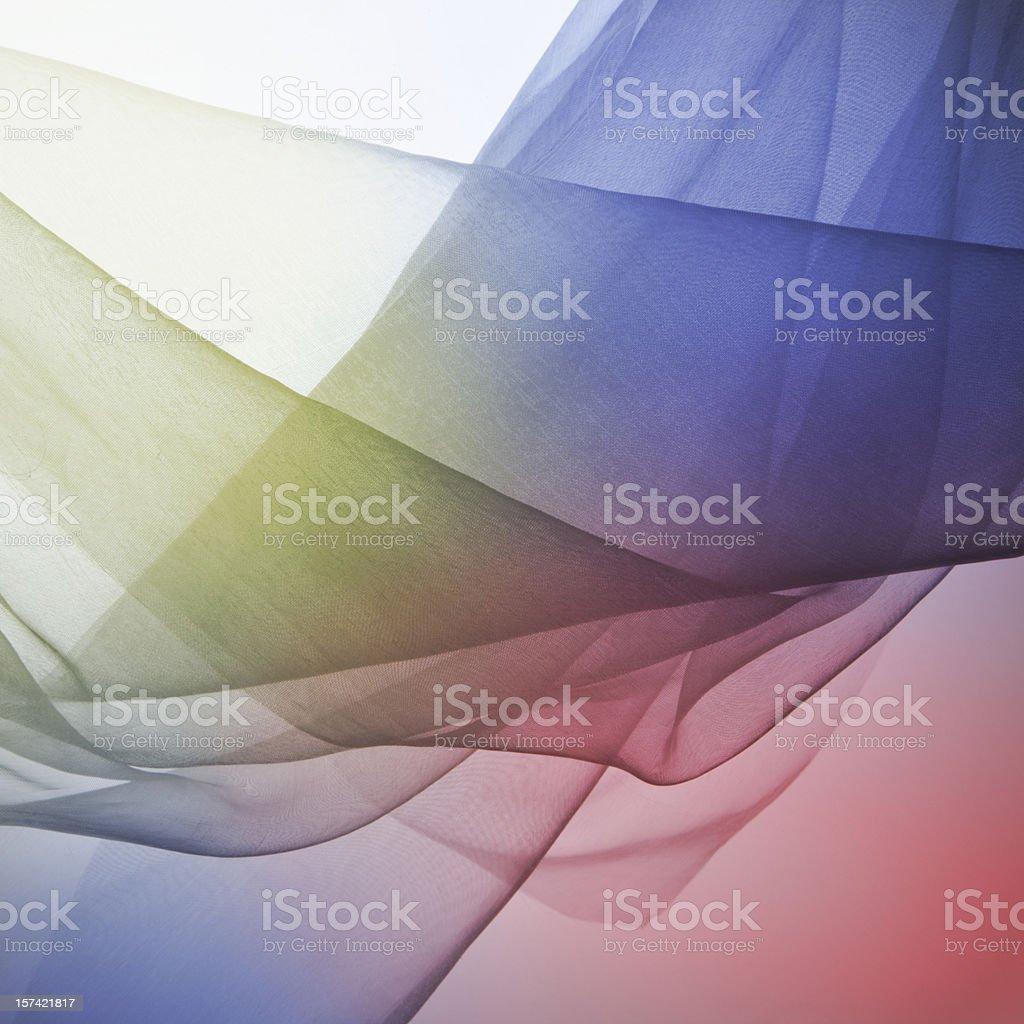 Transparent silk royalty-free stock photo
