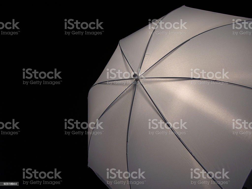 Transparent umbrella royalty-free stock photo
