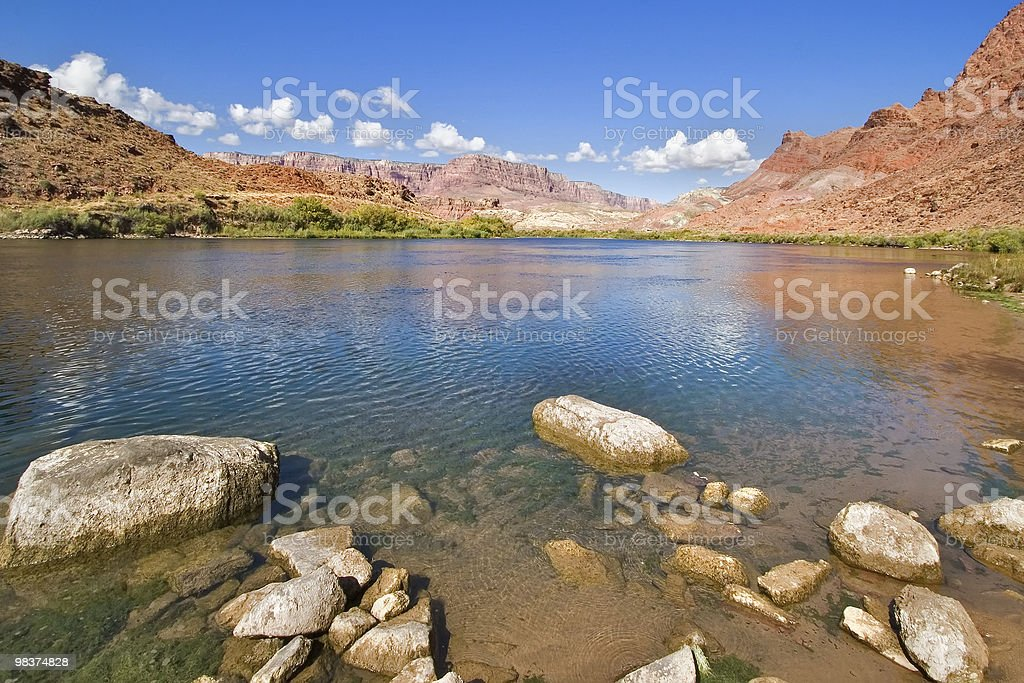 Transparent water. royalty-free stock photo