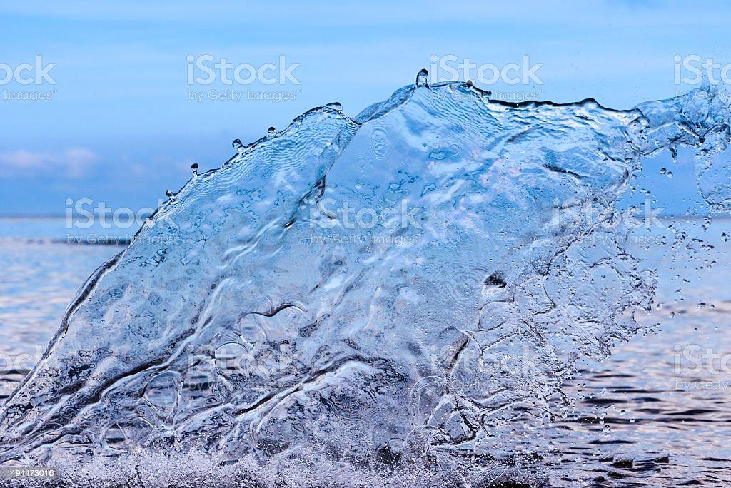 Transparentes Wasser splash – Foto