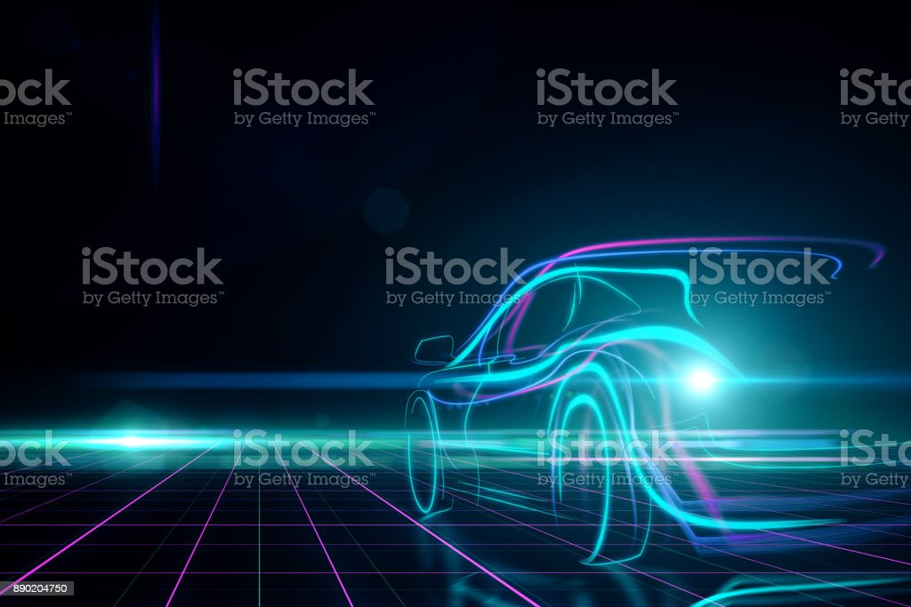 Transport and design concept - foto stock