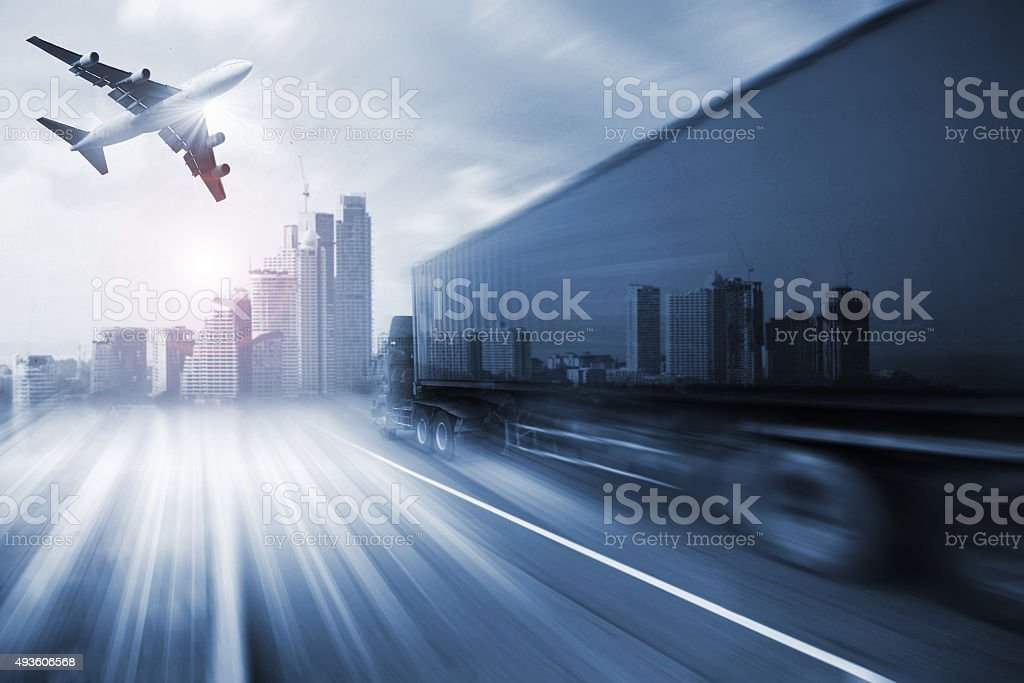transport and import-export commercial logistic ,shipping business industry stock photo