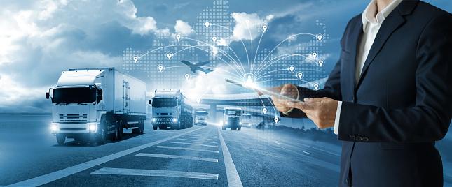 transportation management stock photos