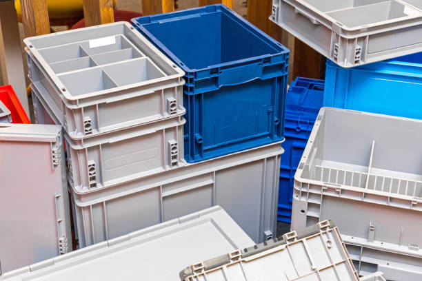 Transport Boxes stock photo