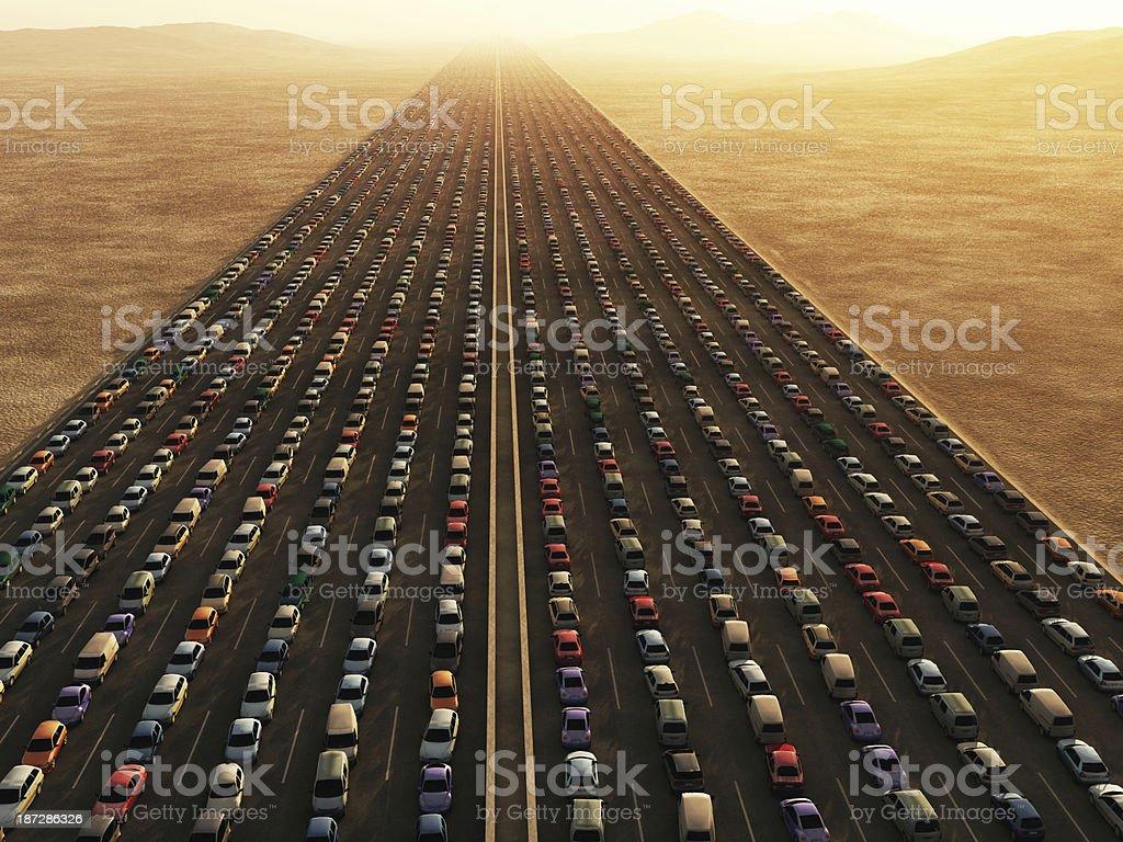 Colapso de transporte - foto de stock