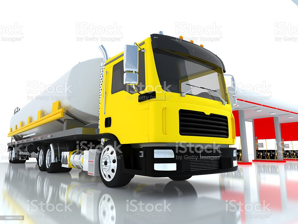 transport oil tanker royalty-free stock photo