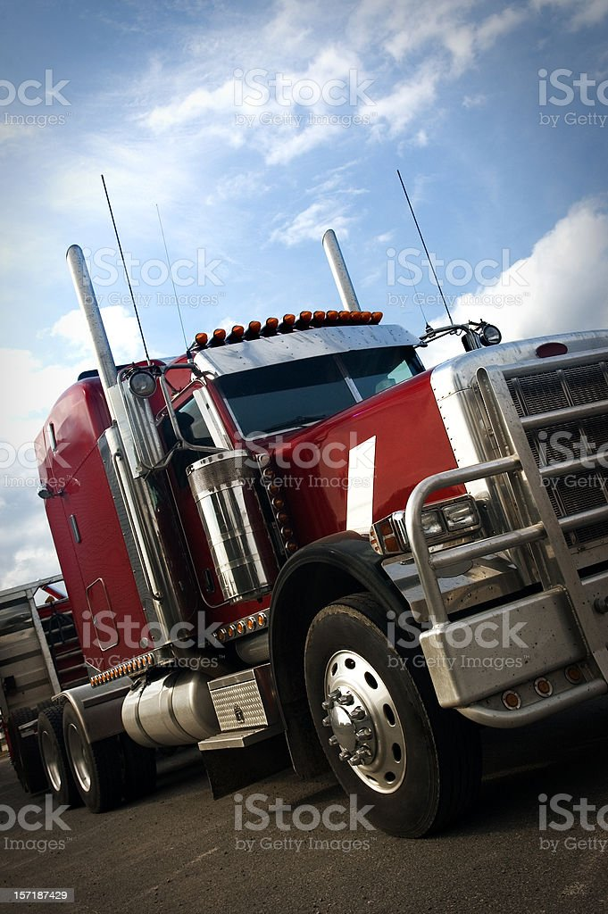 Transport Truck royalty-free stock photo