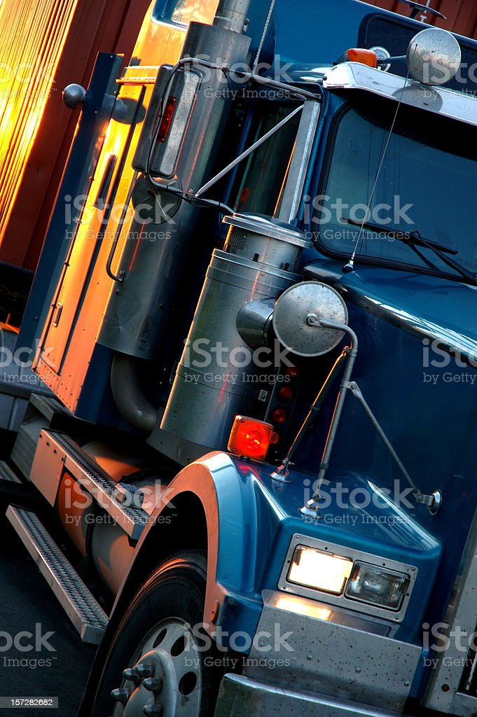 Transport Truck royalty-free stock photo