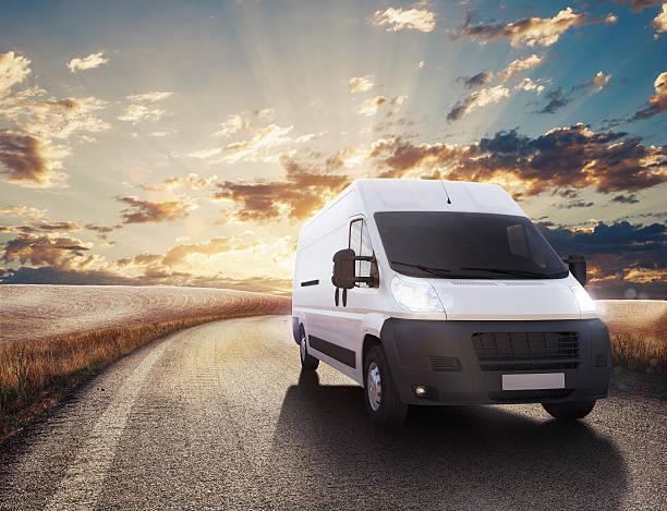Trasporto camion - foto stock