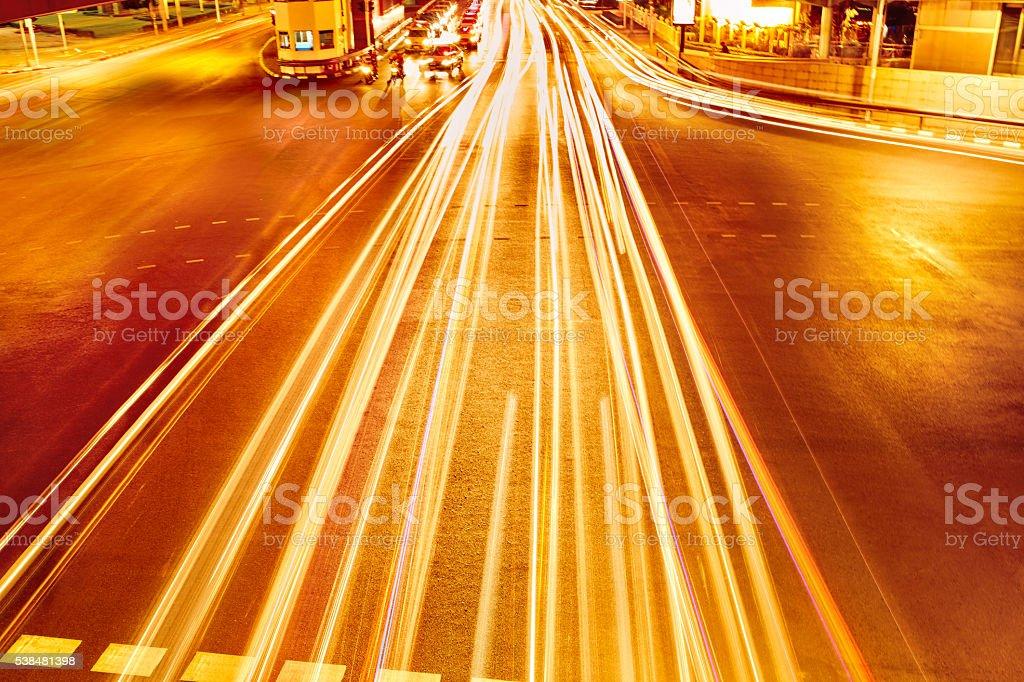Transportation. Abstract Urban Background. Speed Traffic stock photo