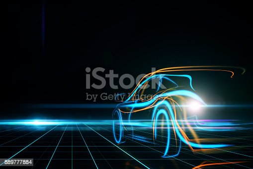 istock Transportation and design concept 889777884