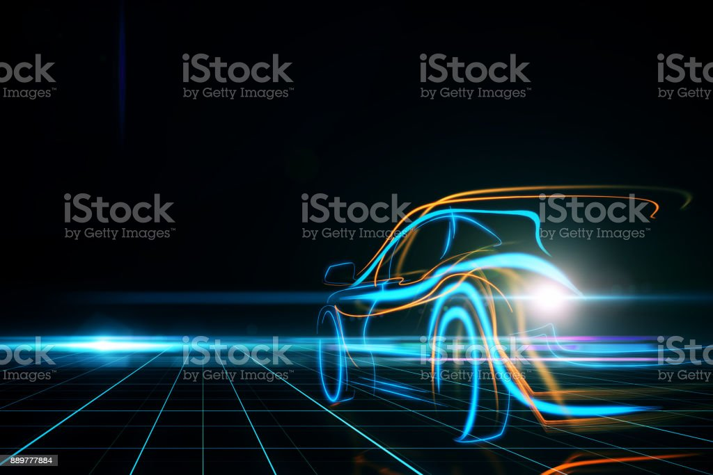 Transportation and design concept stock photo