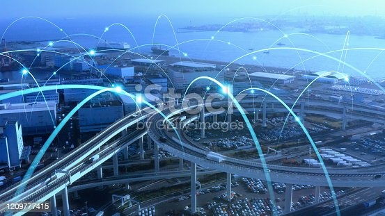 692819426istockphoto Transportation and technology concept. ITS (Intelligent Transport Systems). Mobility as a service. 1209777415
