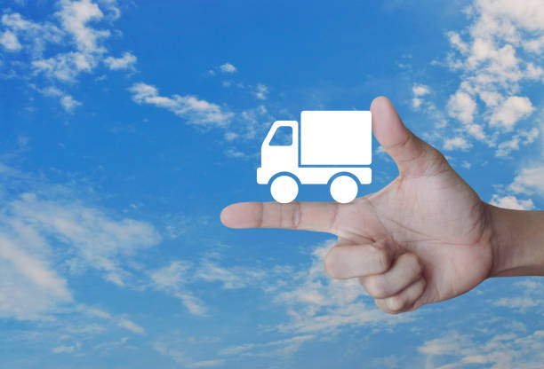 Transportation business truck concept stock photo
