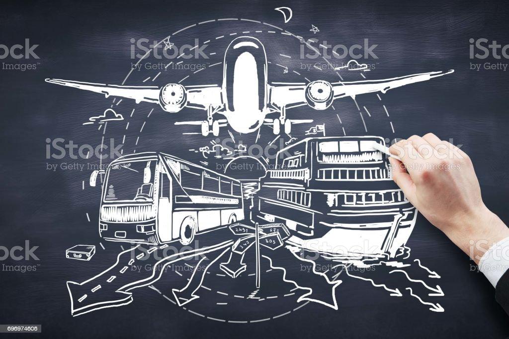 concept de transport - Photo