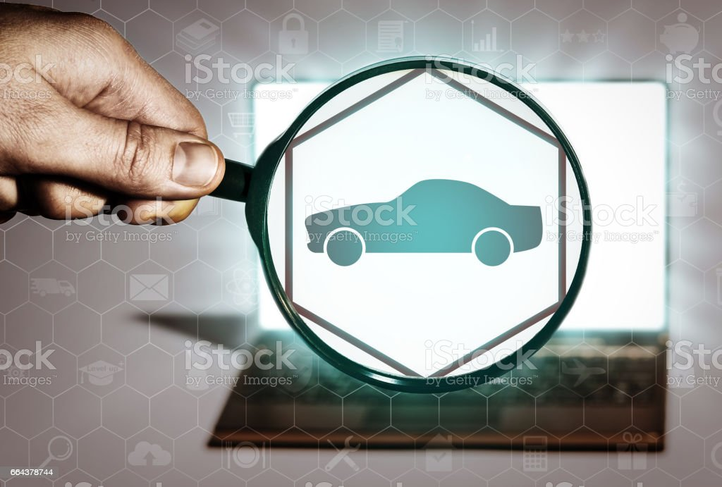 Transportation, delivery, purchase of cars, rent, taxi. stock photo