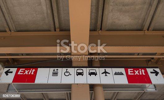 istock Transportation Icons 526706389
