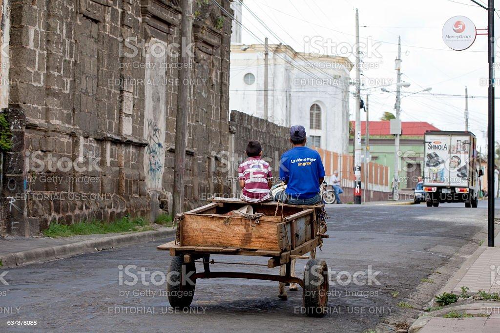 Transportation in Nicaragua stock photo