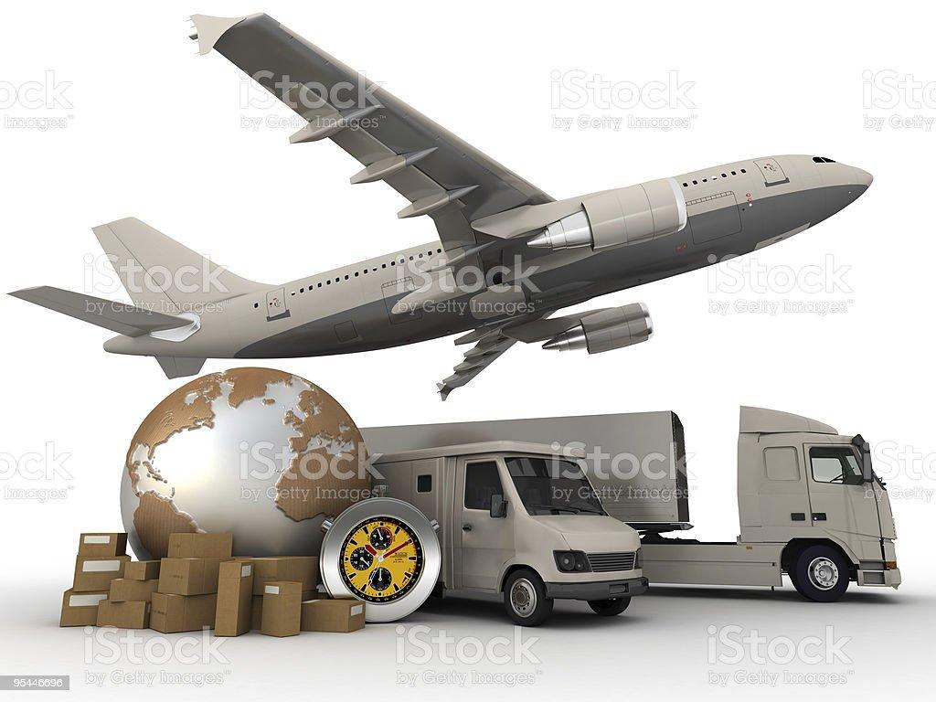 Transportation process royalty-free stock photo