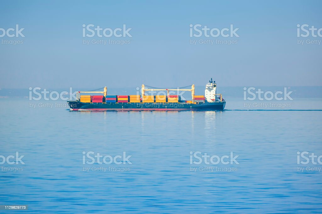 An image of a transportation ship