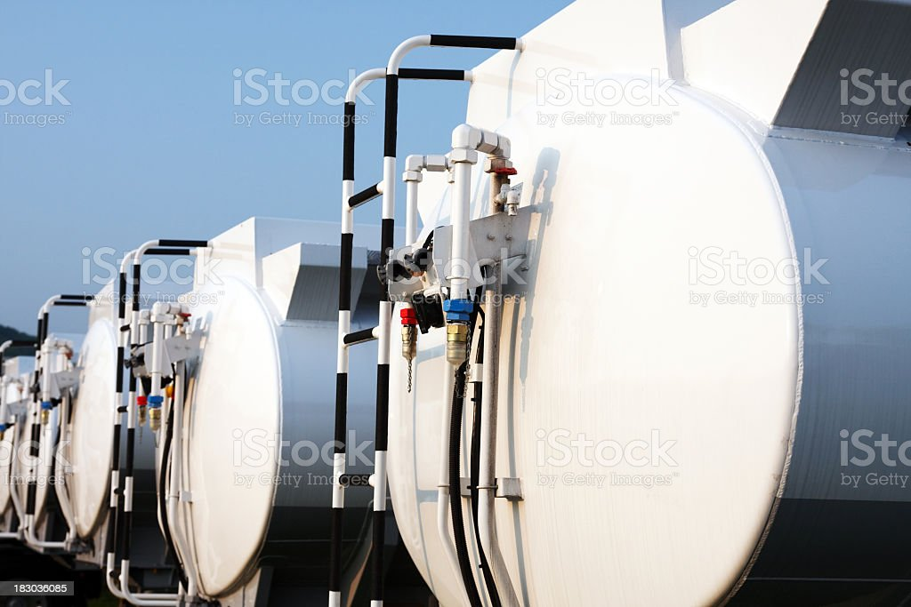 Transportation tanks royalty-free stock photo