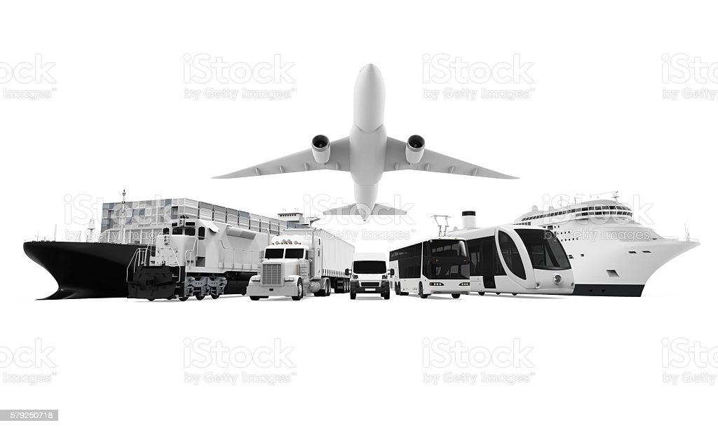Transportation Vehicles stock photo