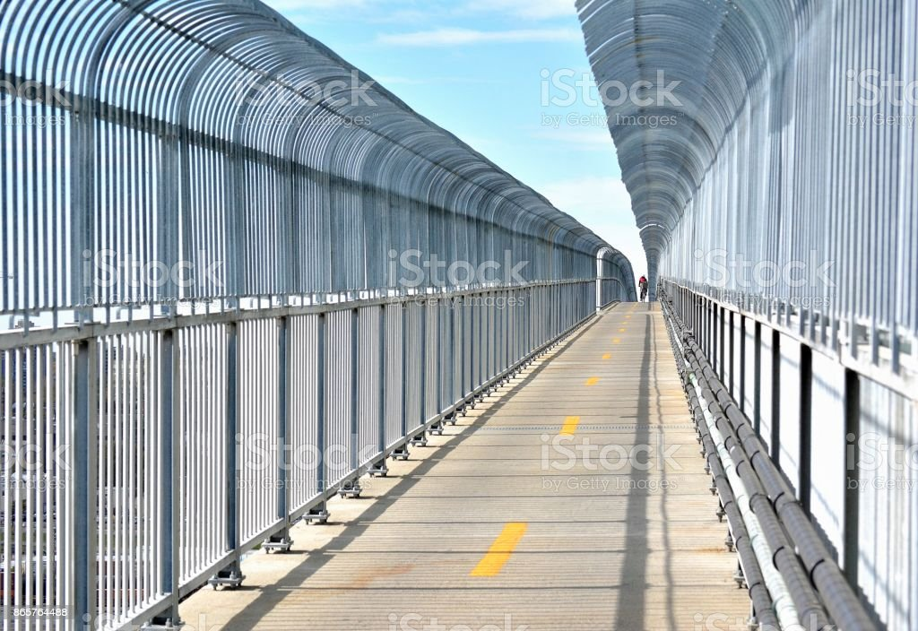 Transportation...Suicide Barrier stock photo