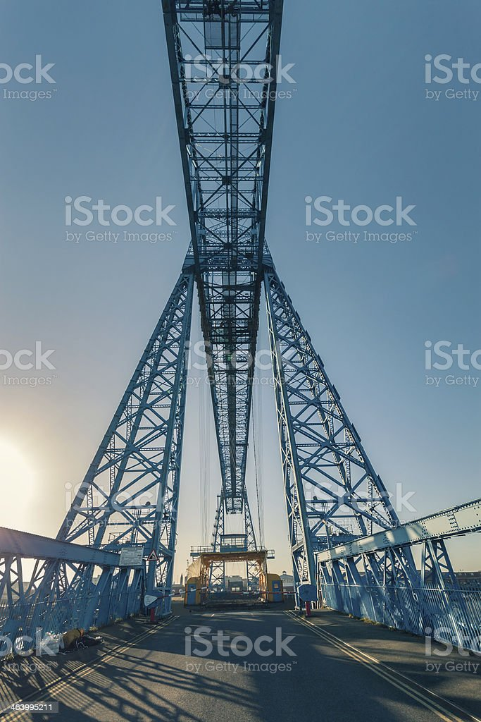 Transporter Bridge stock photo