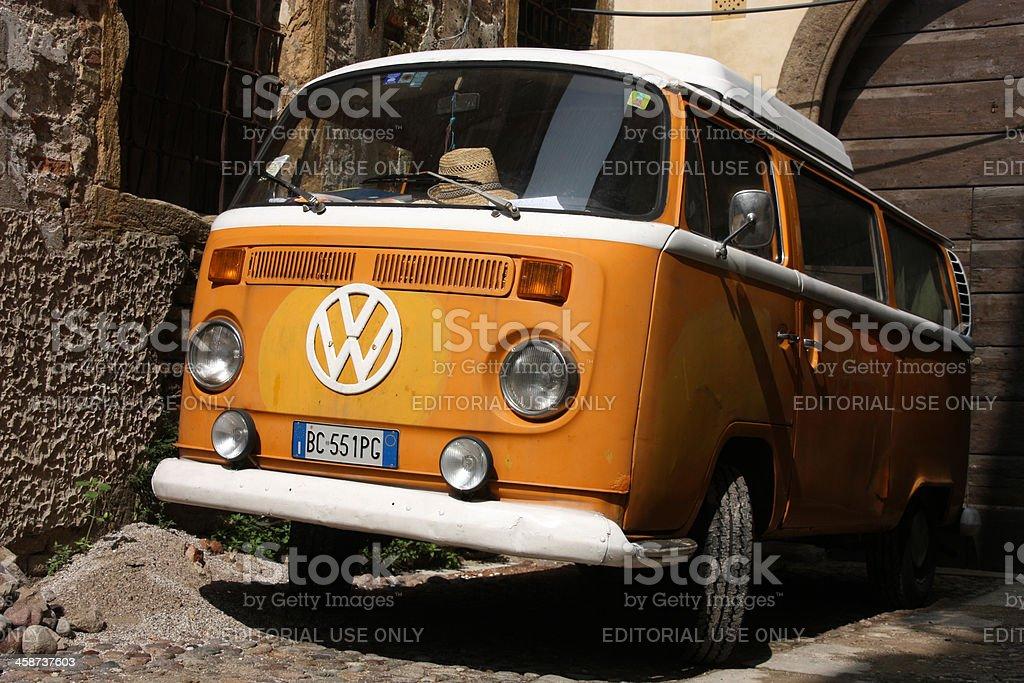 VW Transporter T2 stock photo