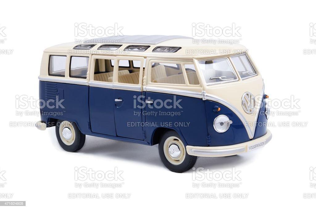 VW Transporter Van stock photo