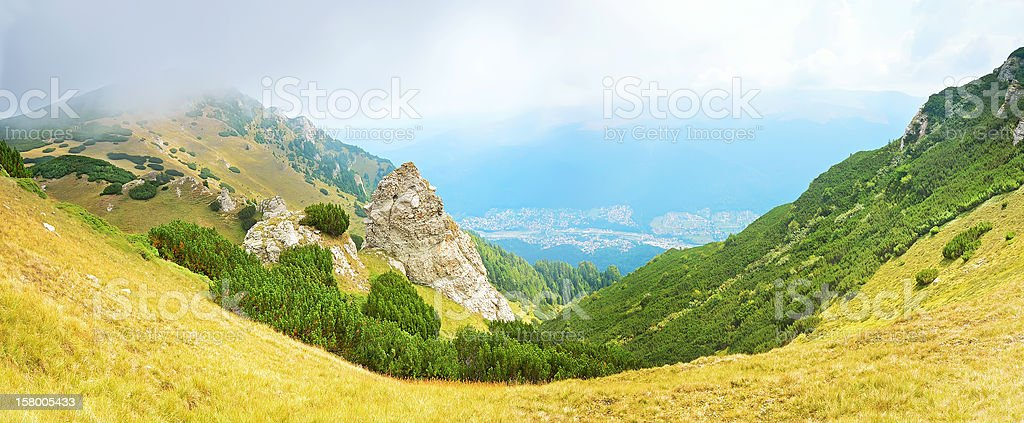 Transylvania, Sinaia, Romania royalty-free stock photo