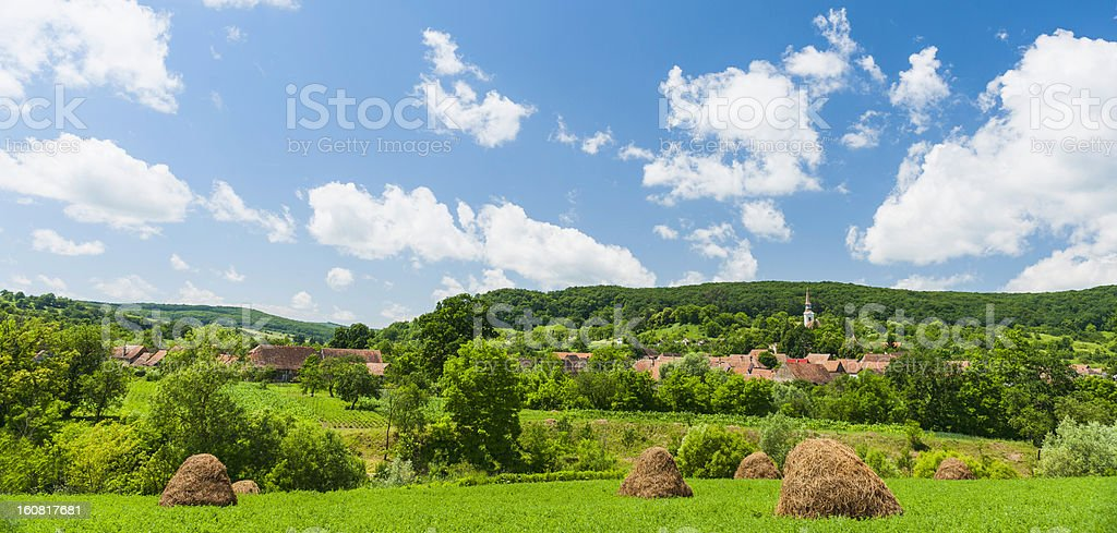Transylvanian Countryside royalty-free stock photo