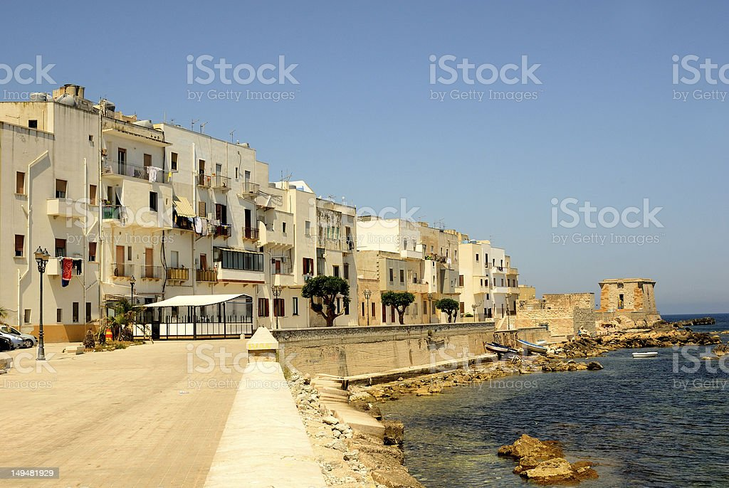 Trapani (Sicily) royalty-free stock photo